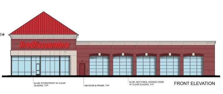 Tire Discounters Front Elevation