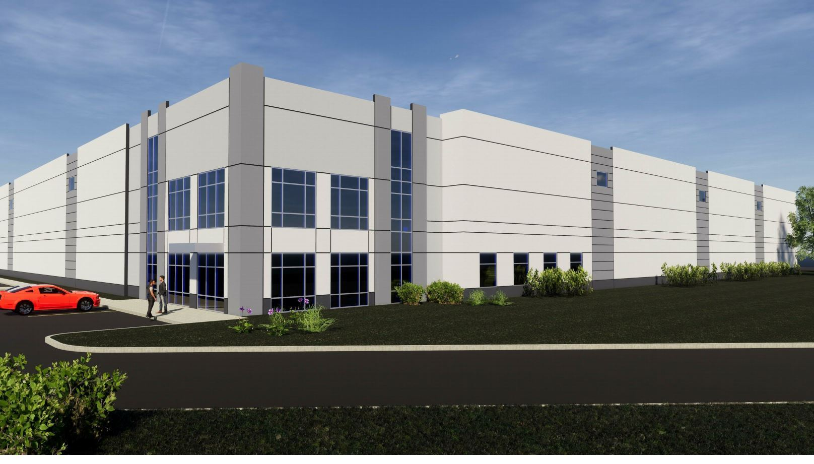 Plainfield Spec Building Rendering